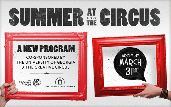 summer at the creative circus