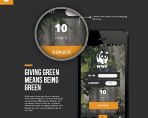 WWF Footprint App