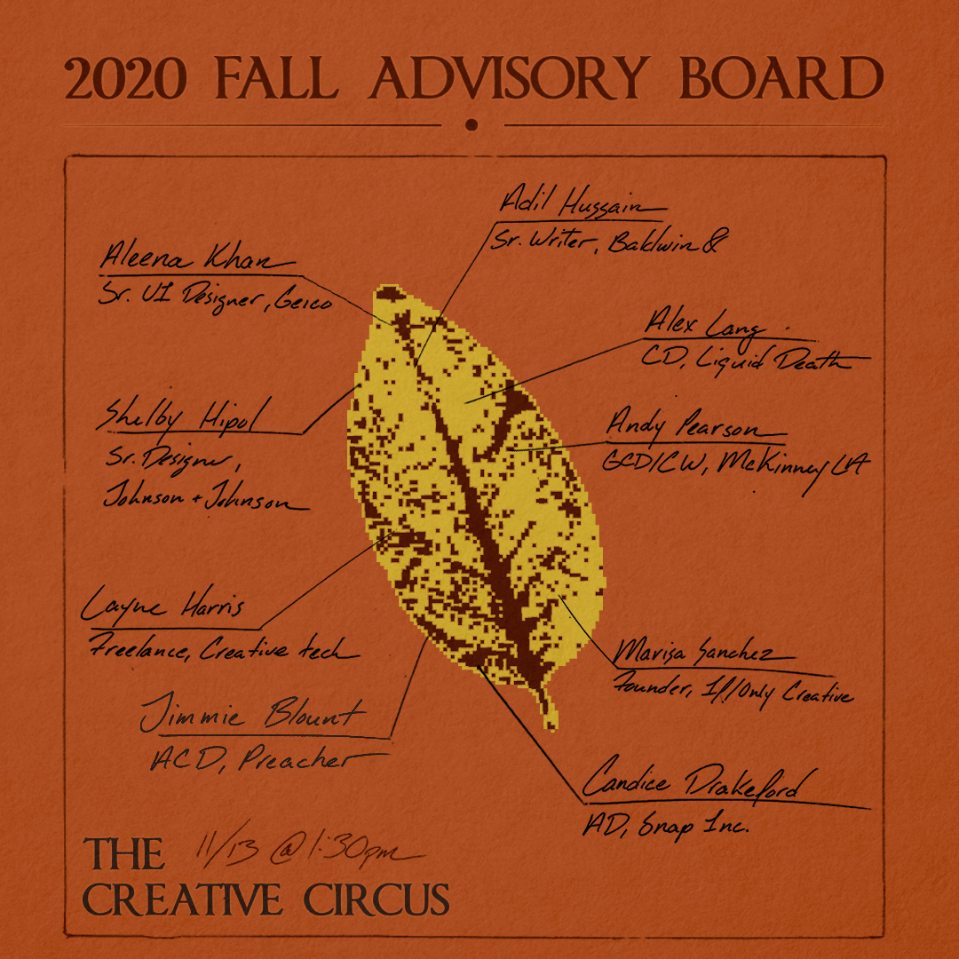 creative circus advisory board 2020